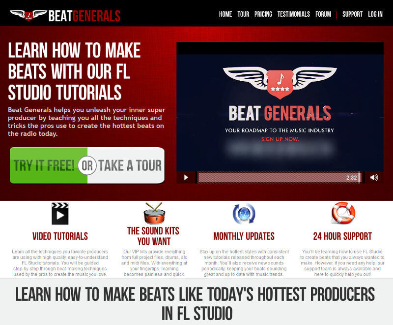 review of Beat Generals