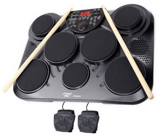 This is the Pyle Pro 7-Piece Electronic Drum Pad